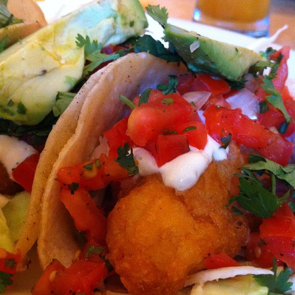 fish tacos @ Cheese Cake Factory