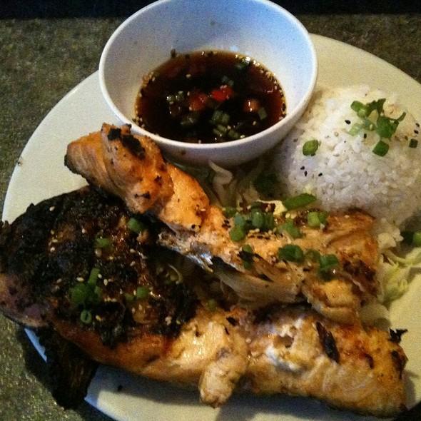 Salmon Kama @ Zensei Sushi