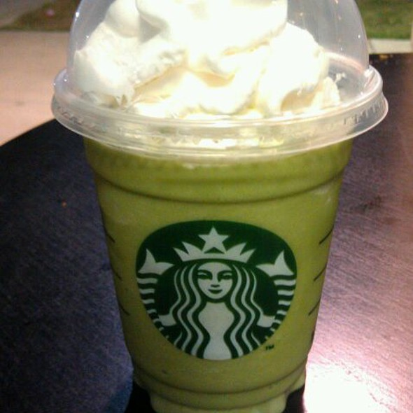 Peppermint Green Tea Frappuccino @ Starbucks Coffee @Central Plaza Ramindra