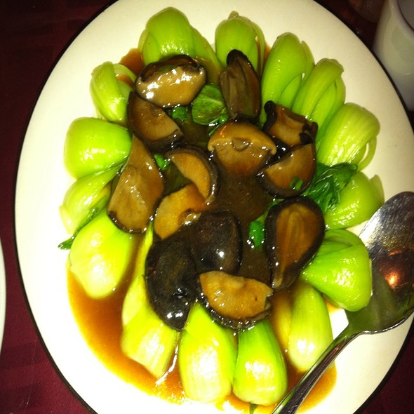 Bok Choi and Black Mushrooms @ Han Dynasty Of Philadelphia