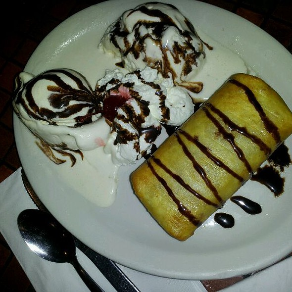 Apple Chimichanga @ Torito's Mexican Food