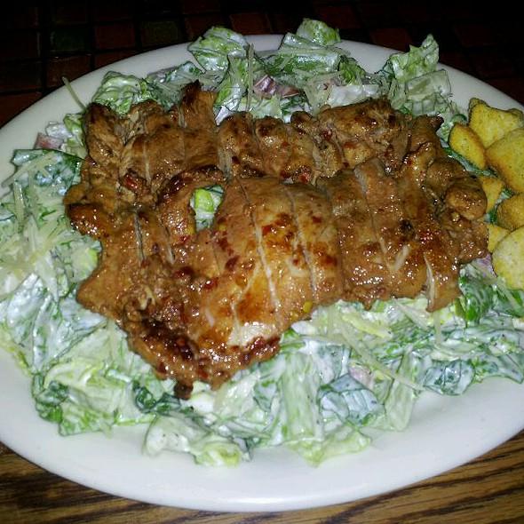 spicy chicken ceasar salad