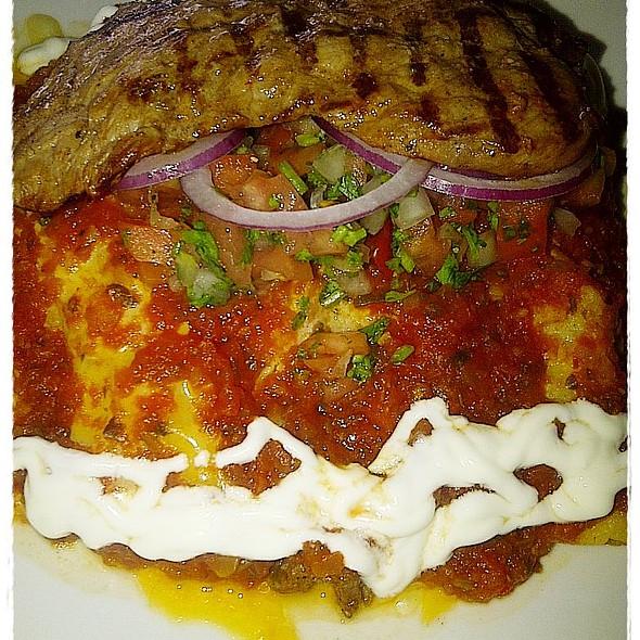 Beef Enchialada @ The Alamo Tex Mex Restaurant