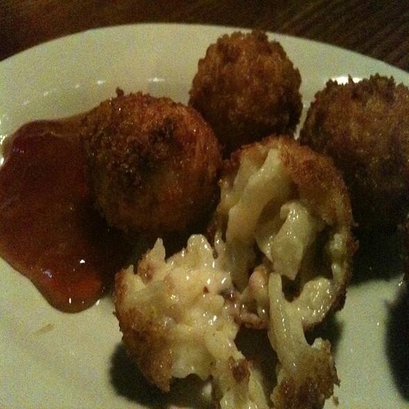 Mac N Cheese Fritters @ Twain's Billiards & Tap