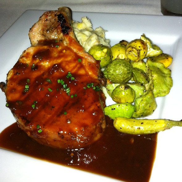 Pork Chop With Homemade Bbq Sauce - The Mustard Seed, Davis, CA