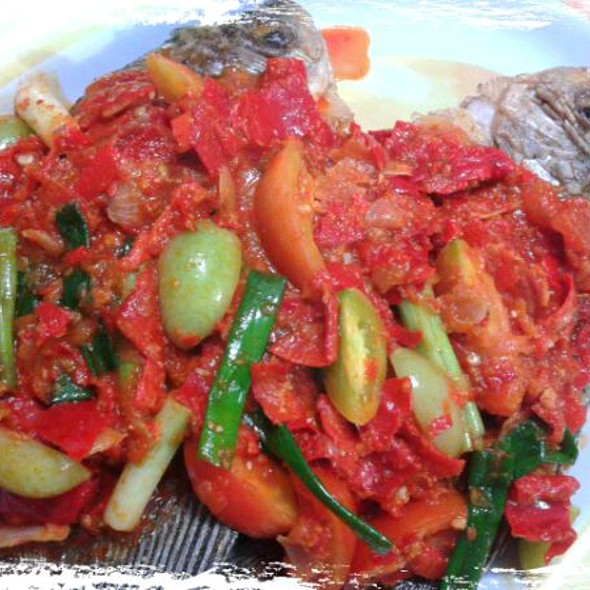 Ikan Balado - Fried Fish In Hot Sauce