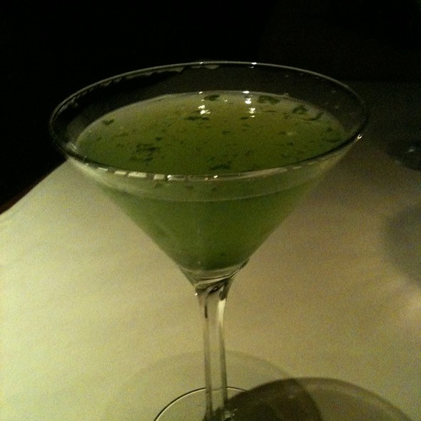 Basil Martini - Bleu Boheme, San Diego, CA