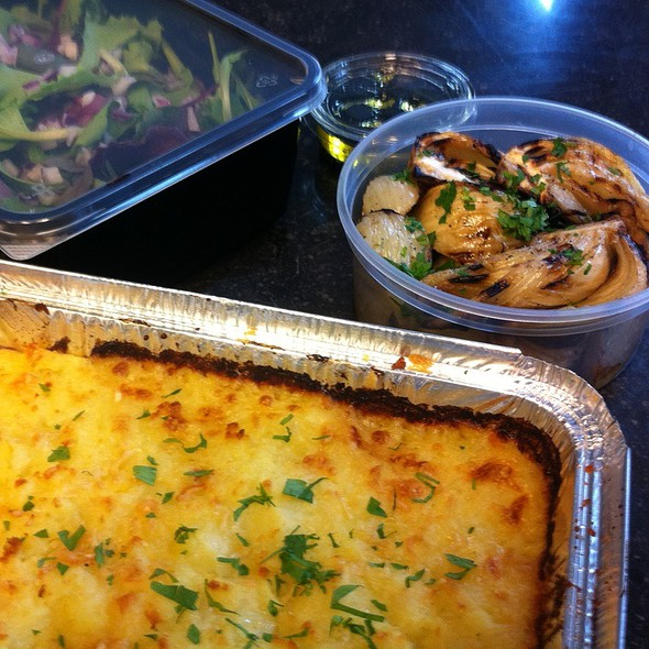 Fish Pie, Grilled Fennel, Mixed Salad @ Nina's Kitchen