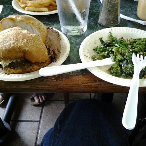 Roast Beef Combo @ Nick's Original Roast Beef