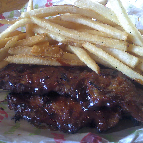Honey BBQ Riblets @ Applebee's