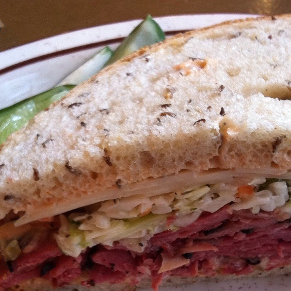 Pastrami And Corned Beef Combo @ Sam Lagrassa's