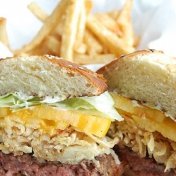 Thrillist's Favorite Burger @ John Howie Steak House Restaurant & Bar