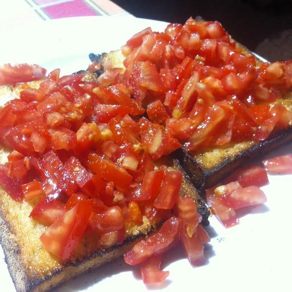 Bruschetta @ Pizzeria Al Ponticello