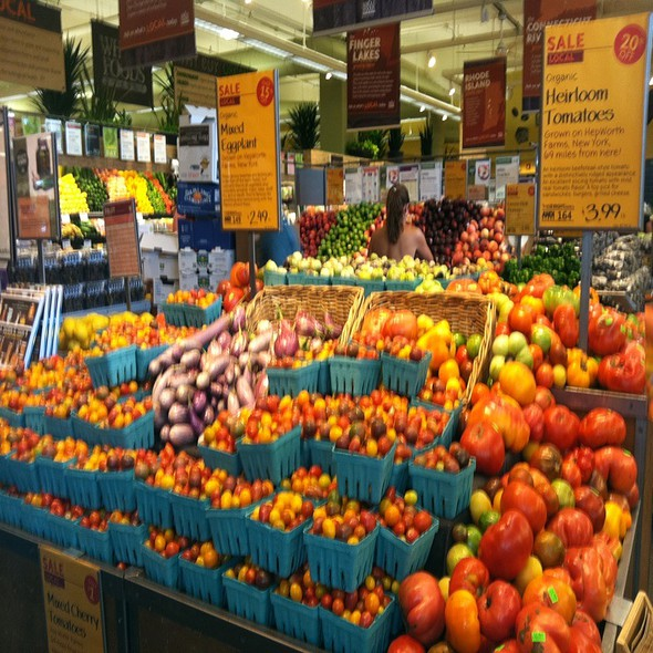 Heirloom Tomatoes @ Whole Foods Market - Greenwich