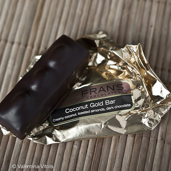 Coconut Gold Bar @ Fran's Chocolates