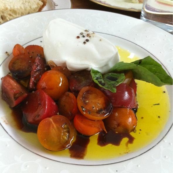 Tomatoes, Burrata, Balsamic @ The Tasting Kitchen
