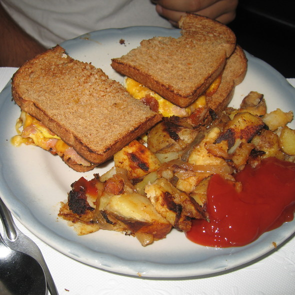 Ham Egg and Cheese Sandwich @ Art Cliff Diner