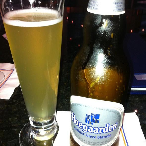 Hoegaarden Beer - Siro Urban Italian at Marriott World Center, Orlando, FL