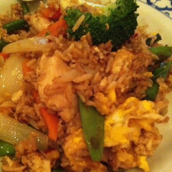 Basil Fried Rice With Chicken @ Sweet Lemons I