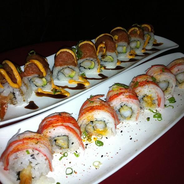 Red Memo & R&B Roll @ Toku Sushi
