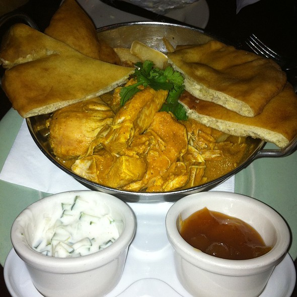 Chicken Curry With Fries @ Johnny Foley's Irish House