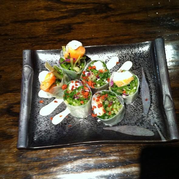 Smoked Salmon Spring Roll 2011 @ Sumika