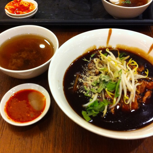 Dry Beef Noodle @ Ion Orchard