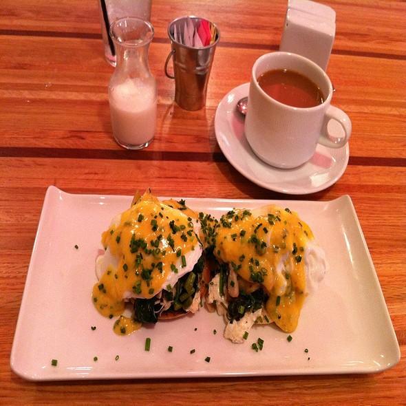 Lump Crab Eggs Benedict - Pura Vida  by Brandt, Cleveland, OH