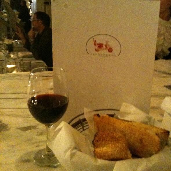 Garlic Bread And Pinot Noir - Alexander's on 30th, San Diego, CA