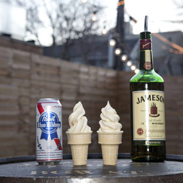 Jameson Soft-Serve Ice Cream @ The Boiler Room