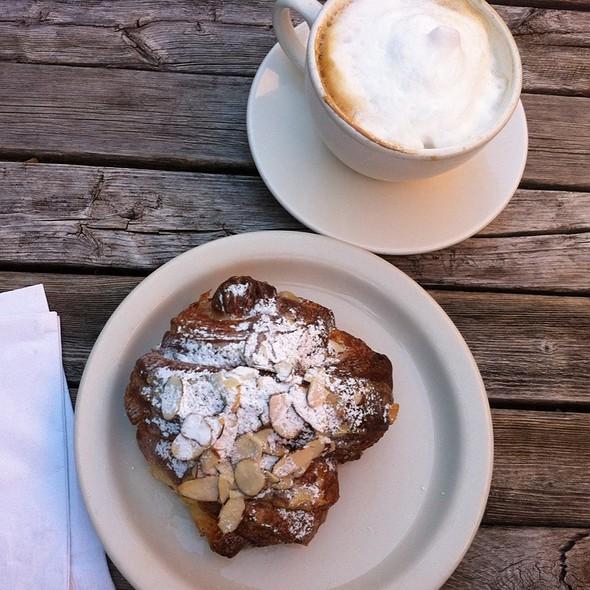 Almond croissant @ Tulie Bakery