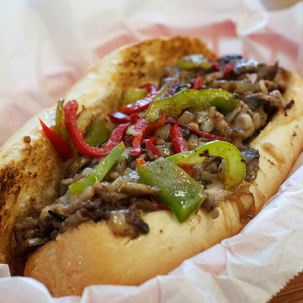 Philly Cheesesteak @ Central Station Grill