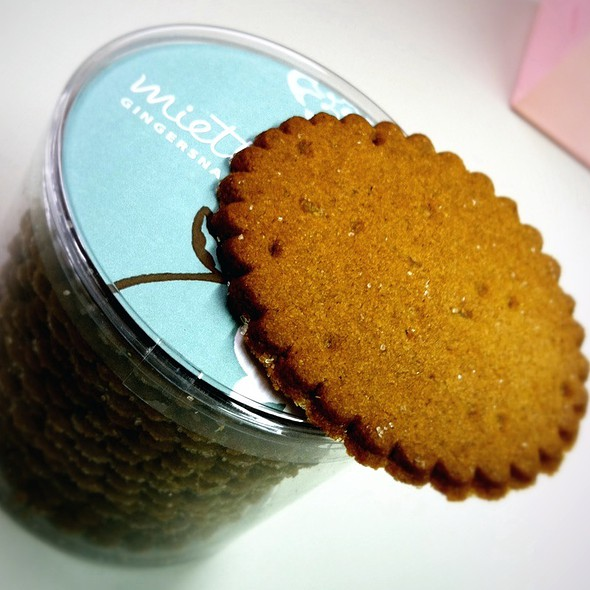 Ginger Snaps @ Miette Cakes