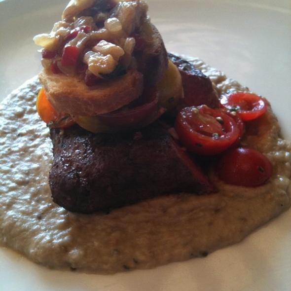 Grilled Togarashi Flank Steak @ Bridget Foy's