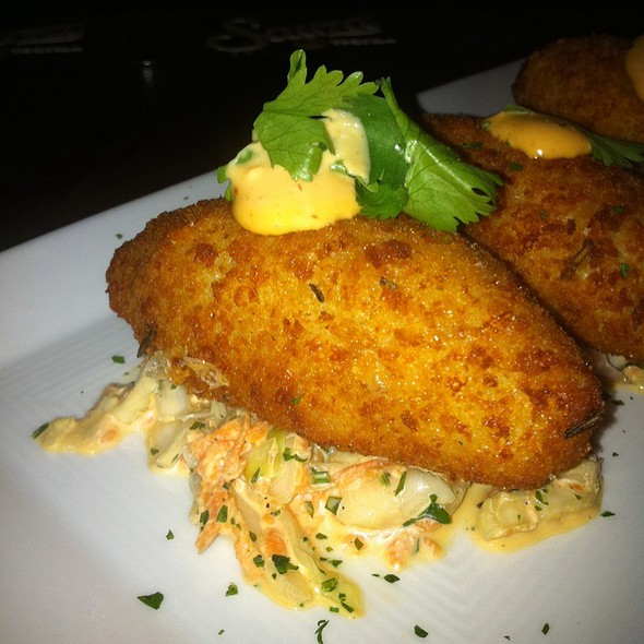 Potato-Bacon Croquettes @ Chef Geoff's Downtown