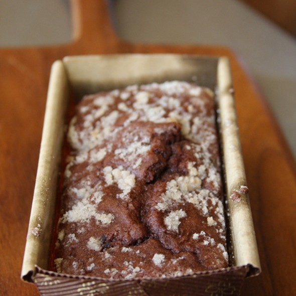 Chocolate Pound Cake @ Signature Grill at the JW Marriott Starr Pass Resort & Spa
