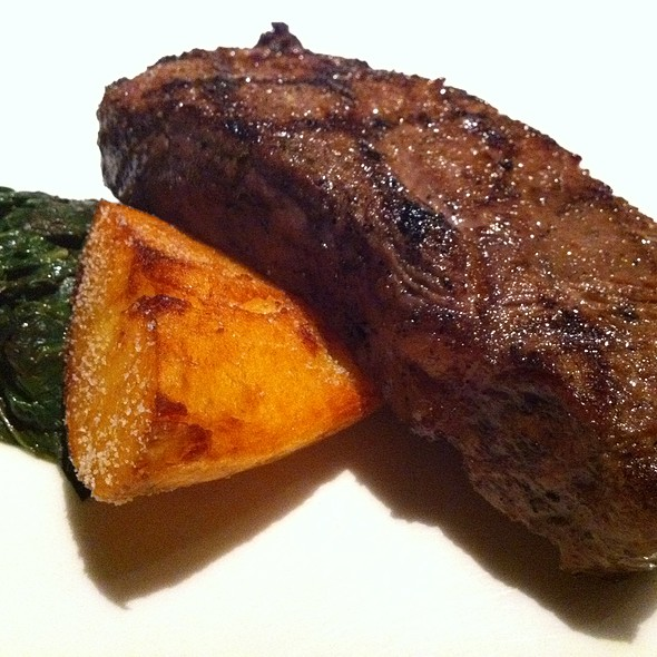 NY Strip Steak @ Julian Serano