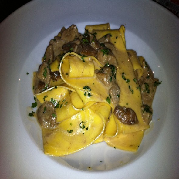 Pappardelle With Piemonte Mushrooms @ Paisá Come a Napoli