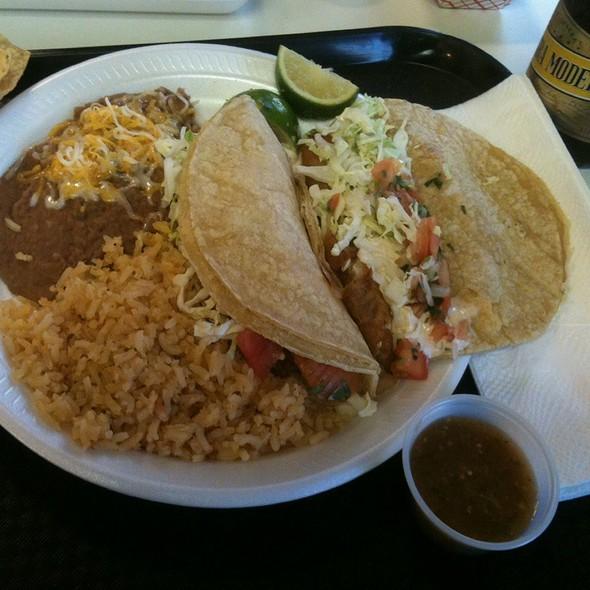 Fish Taco Combo @ Los Panchos Mexican Restaurant