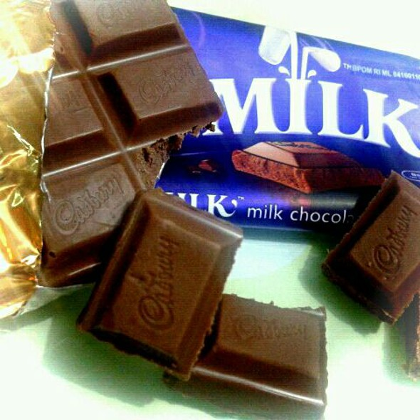 Milk chocolates @ Home
