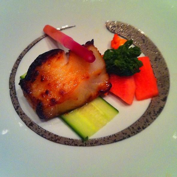 Baked Sweet Miso Marinated Black Cod @ Okada