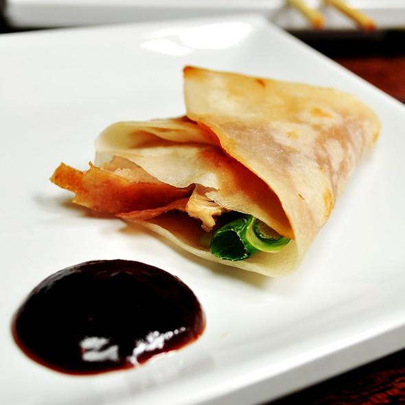 Pekking Duck Pancake with Hoisin Sauce @ Bamboo Dumpling Bar