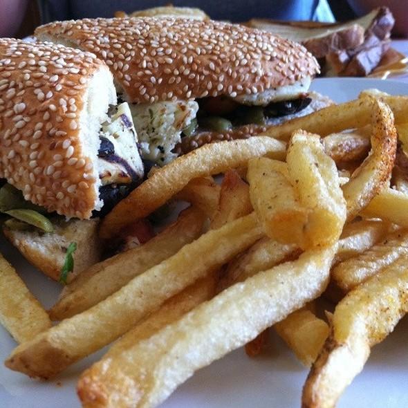 Grilled Halloum Sandwich @ Prime & Toast