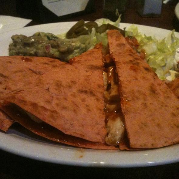 BBQ Quesadilla - Dantanna's Downtown, Atlanta, GA