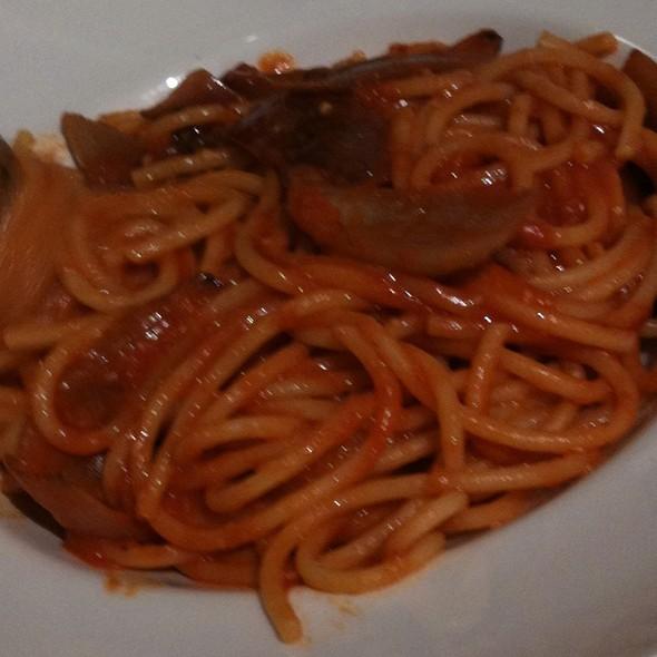 Spaghetti With Tomato Sauce @ Eataly