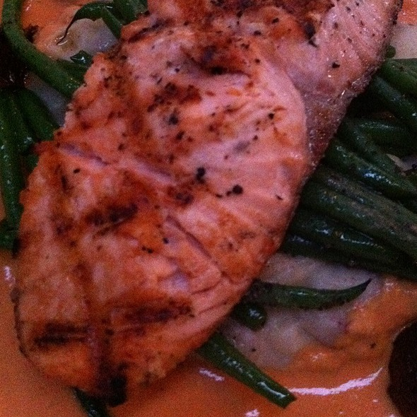 Salmon Al Brandy Asturia - Barcelona Restaurant & Bar, Columbus, OH