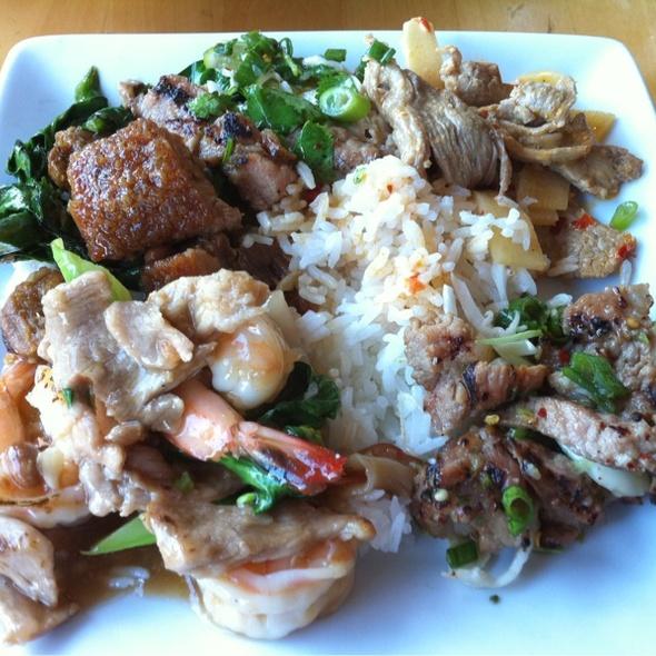 Thai Curry At Thai Patio Hollywood
