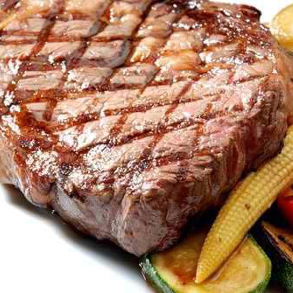 Grilled Certified Angus Beef Prime Ribeye Steak