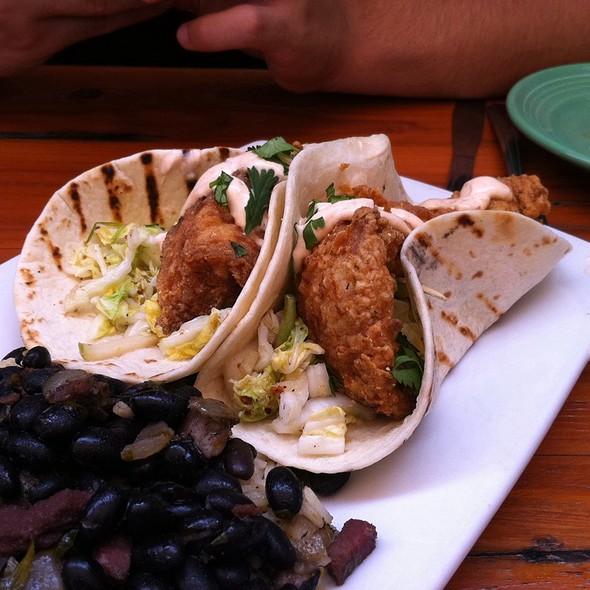 Dogfish head brewings eats menu rehoboth beach de for Fish taco menu