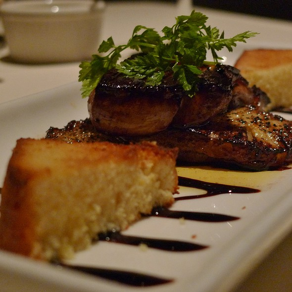 Seared Hudson Valley Foie Gras @ Pinons Restaurant